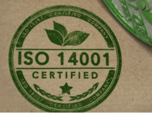 We're ISO 14001:2015 Certified!
